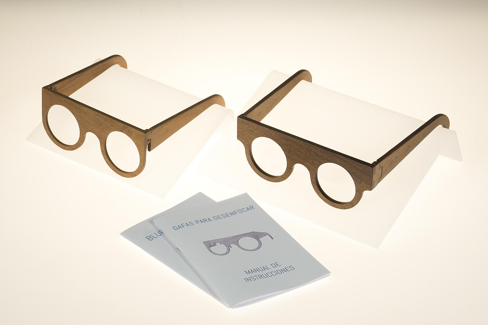 Gafas de desenfoque (ut visio poesis), 2017