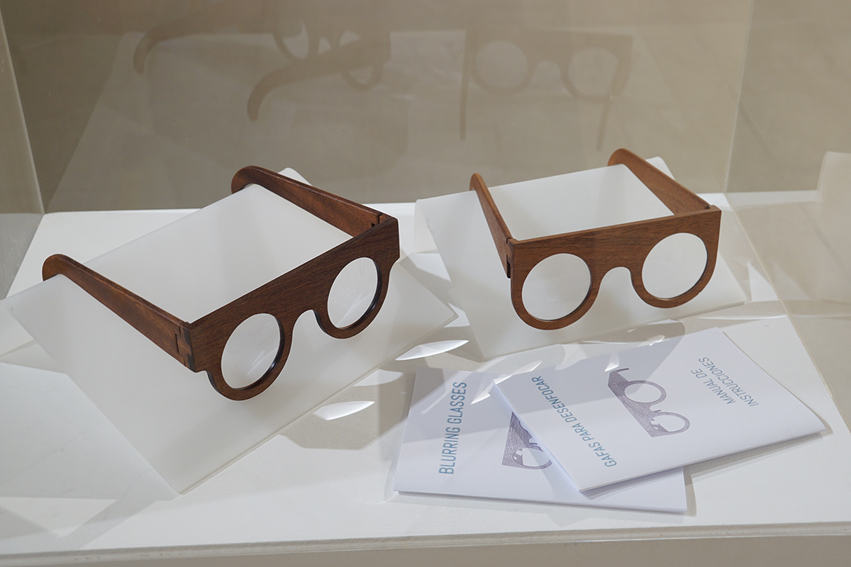 Gafas de desenfoque (ut visio poesis), Fundación Frax, 2017.
