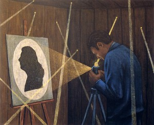 Tú, 2003. 54 x 73 cm. Óleo sobre lienzo.