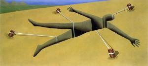Body son, 1991. Óleo sobre lienzo, 90 x 190 cm.