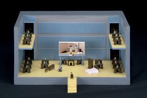 Escenario: segundo acto, 2016. Maqueta.