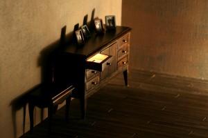 Homúnculos y demonios I, 2006. 30 x 53 cm. Fotografía digital (impresión Lambda).