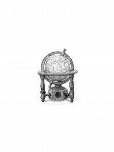 Sacapuntas con forma de globo terráqueo, 2018. Grafito sobre papel. 24 x 18 cm.