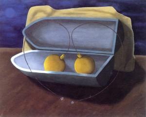 Grave trampa mortal, 1991. Óleo sobre lienzo, 81 x 65 cm.