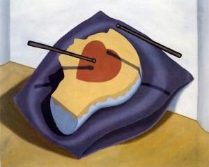 Retrato de un gentilhombre, 1991. Óleo sobre lienzo, 81 x 100 cm.