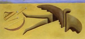 Soul son, 1991. Óleo sobre lienzo, 90 x 190 cm.